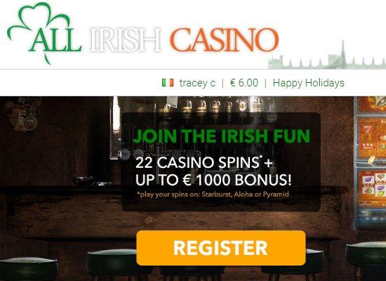 all irish casino